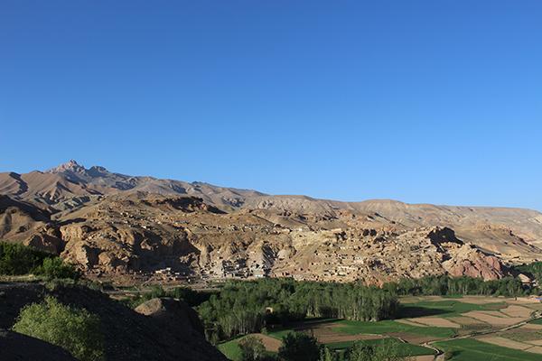 Colline-Bamyan