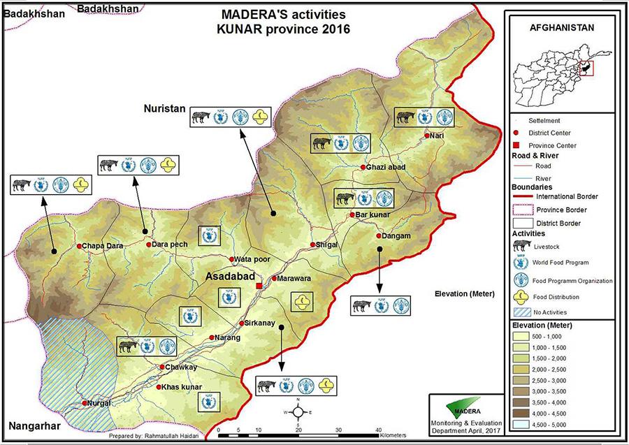 MADERA'S-activities-Kunar,2016