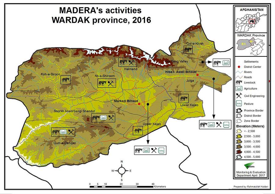 MADERA'S-activities-Wardak,2016